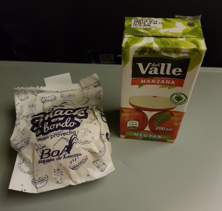On board snacks