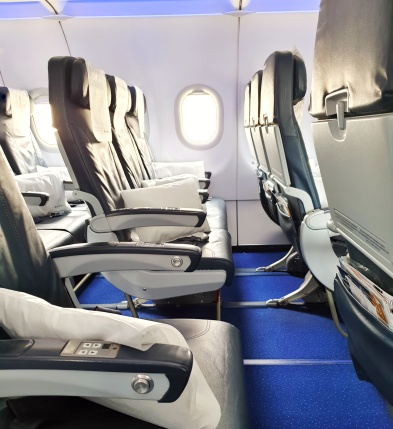 Economy seats A321 Air Astana